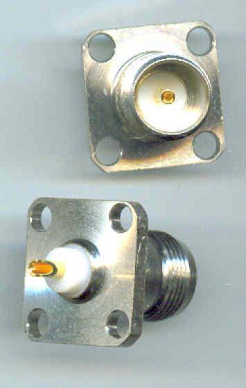 75 ohm TNC Connectors female BH type TNC864A-0075-0