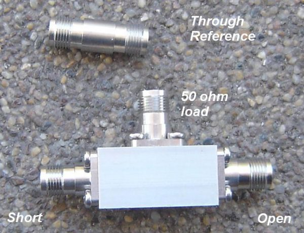 TNCCAL-50, Educational Cal Kit for TNC. 50 ohms -0