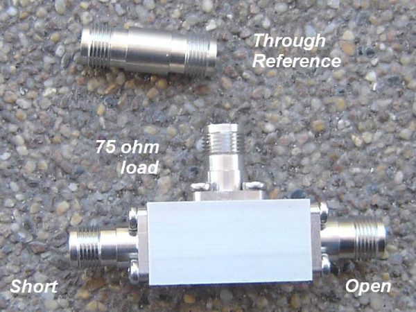 TNCCAL-75, Educational Cal Kit for TNC. 75 ohms -0