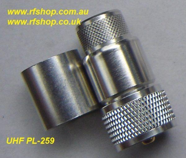 UHF31EZ-L600 , UHF, male,easifit, LMR600-0