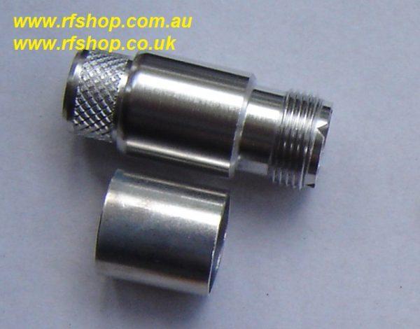 UHF81EZ-L600 , UHF, female,easifit, LMR600-0