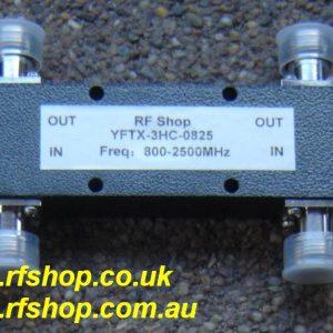 YFTX-3HC-0825, High Power 3dB Coupler, N conns.-0