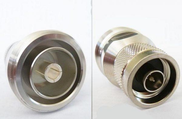 AD-7168N3, N male pin - 7/16 fem pin (DIN)-0