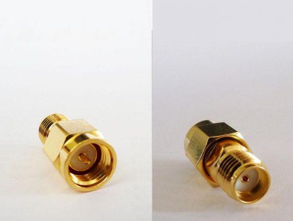 AD-A6A8, Adaptor RP-SMA Plug (fem pin) SMA (conv) fem pin-0
