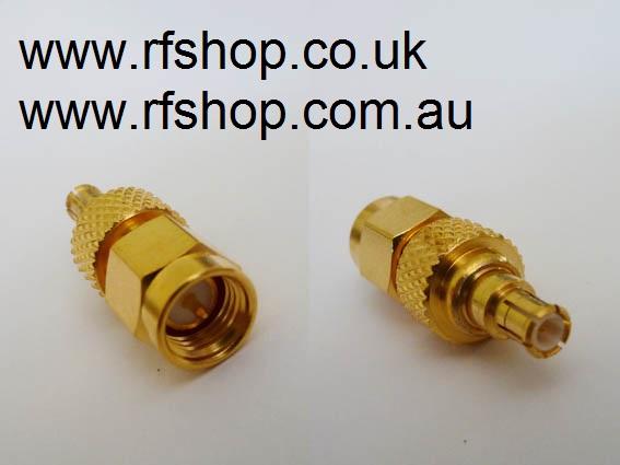 Adapter - SMA Plug (Male pin) to MCX Plug (Male pin) CH-AP-MCXP-0