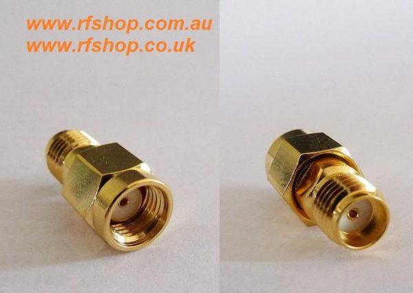 Adapter - SMA Jack Conventional female to SMA Plug RP (Female Pin) CH-AJ-RAP-0