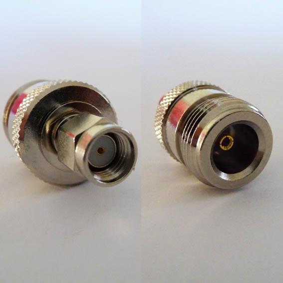Adapter - RP SMA Plug (Female pin) to N Jack (Female pin) CH-RAP-NJ-0
