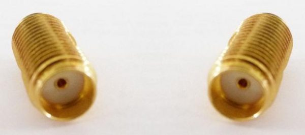Adapter - SMA Jack (Female pin) to SMA Jack (Female pin)-0