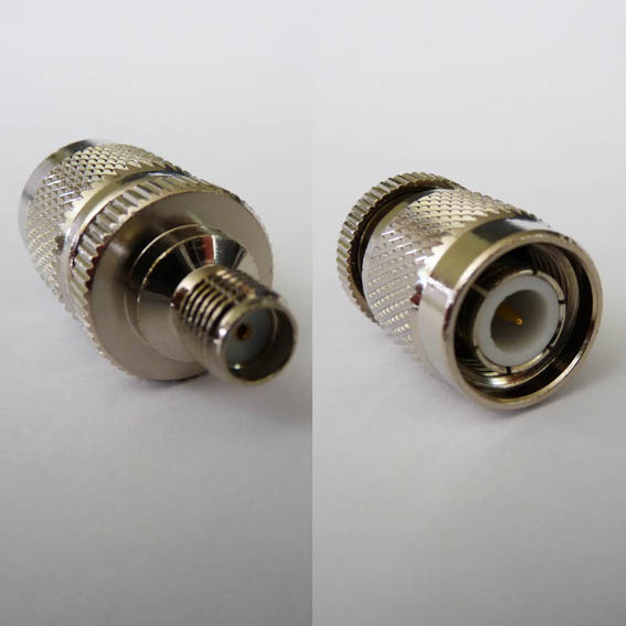Adapter - SMA Jack (Female pin) to TNC Plug (Male pin) CH-AJ-TP-0