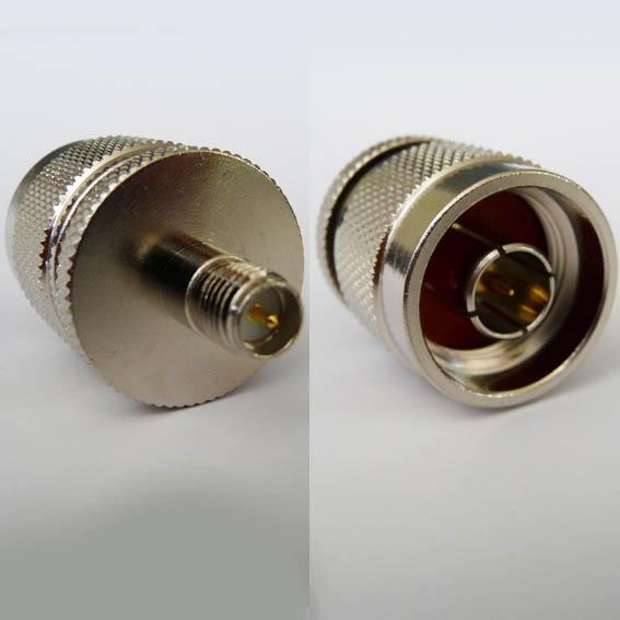 AD-A9N3, RP-SMA jack (male pin) - N male pin-0