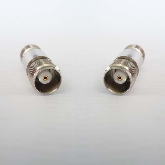 JyeBao Adapter - BNC Jack (Female pin) to BNC Jack (Female pin) - 75 ohm Version AD-B8B8-75-0