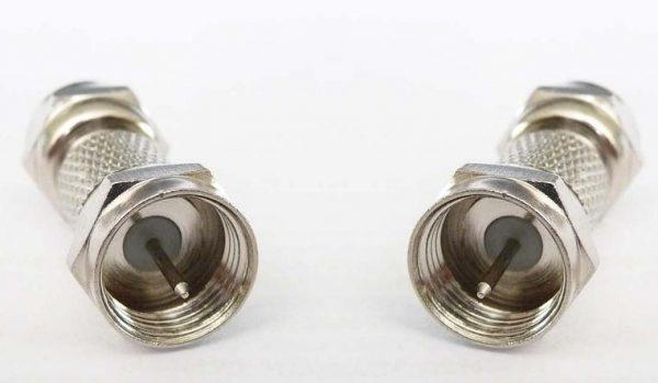 Adapter - F Plug (Male pin) to F Plug (Male pin) CH-FP-FP-0