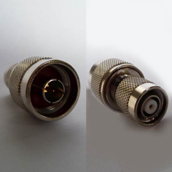 AD-N3T6, RP-TNC Plug (fem pin) - N conv male pin-0