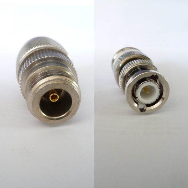 Adapter - N Jack (Female pin) to BNC Plug (Male pin) CH-NJ-BP-0