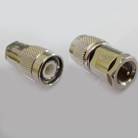 Adapter - TNC Plug (Male pin) to FME Plug (Male pin) t3fme3 CH-TP-FMEP-0