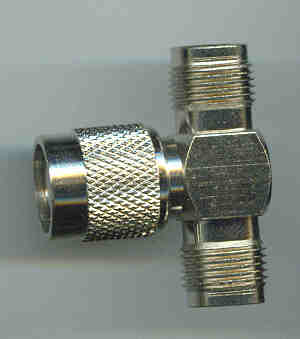 AT-T8T3T8, Adaptor TNC(f-f) TNC (m)-0