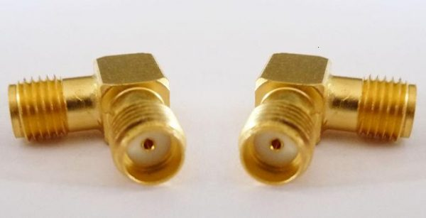 AL-A8A8, SMA fem pin - SMA fem pin, RA-0