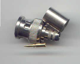 BNC-15-01-F2, BNC Connector male pin , RG585-0