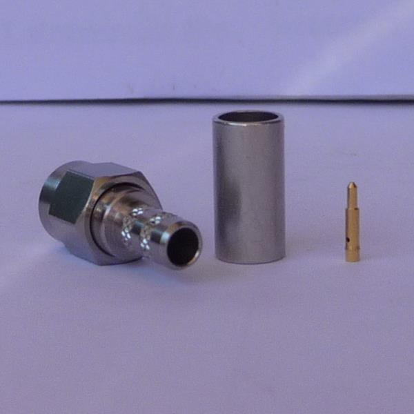 SMA Connector, RG58, LMR195conventional male pin-0