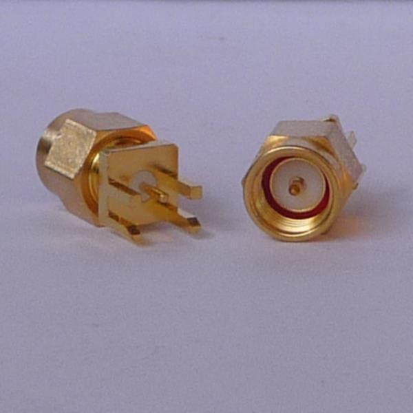 SMA Connector Plug (male) pin PCB Mount SMA3401-0000-0